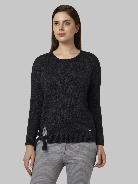 Park Avenue | Park Avenue Woman Dark Blue Sweater