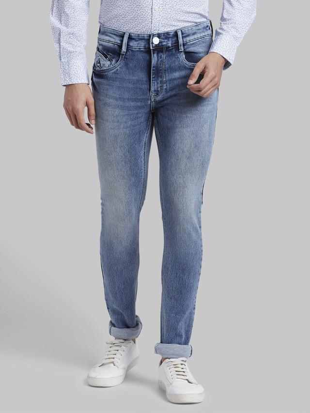 PARX | Parx Medium Blue Skinny Fit Jeans