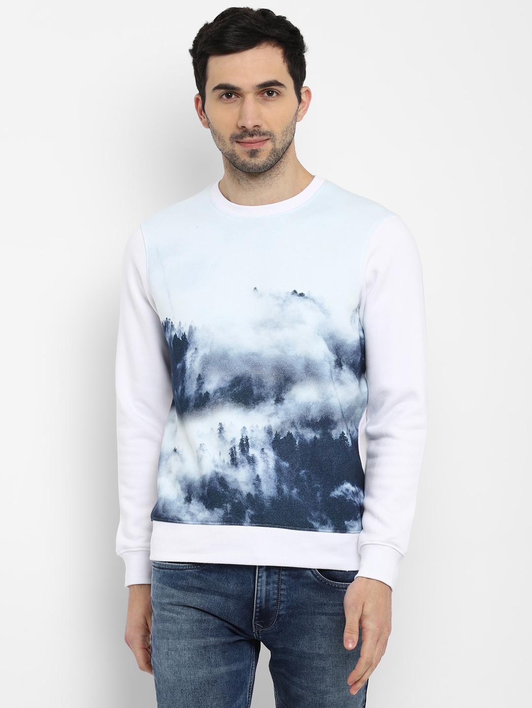 PARX   Parx White Sweatshirt