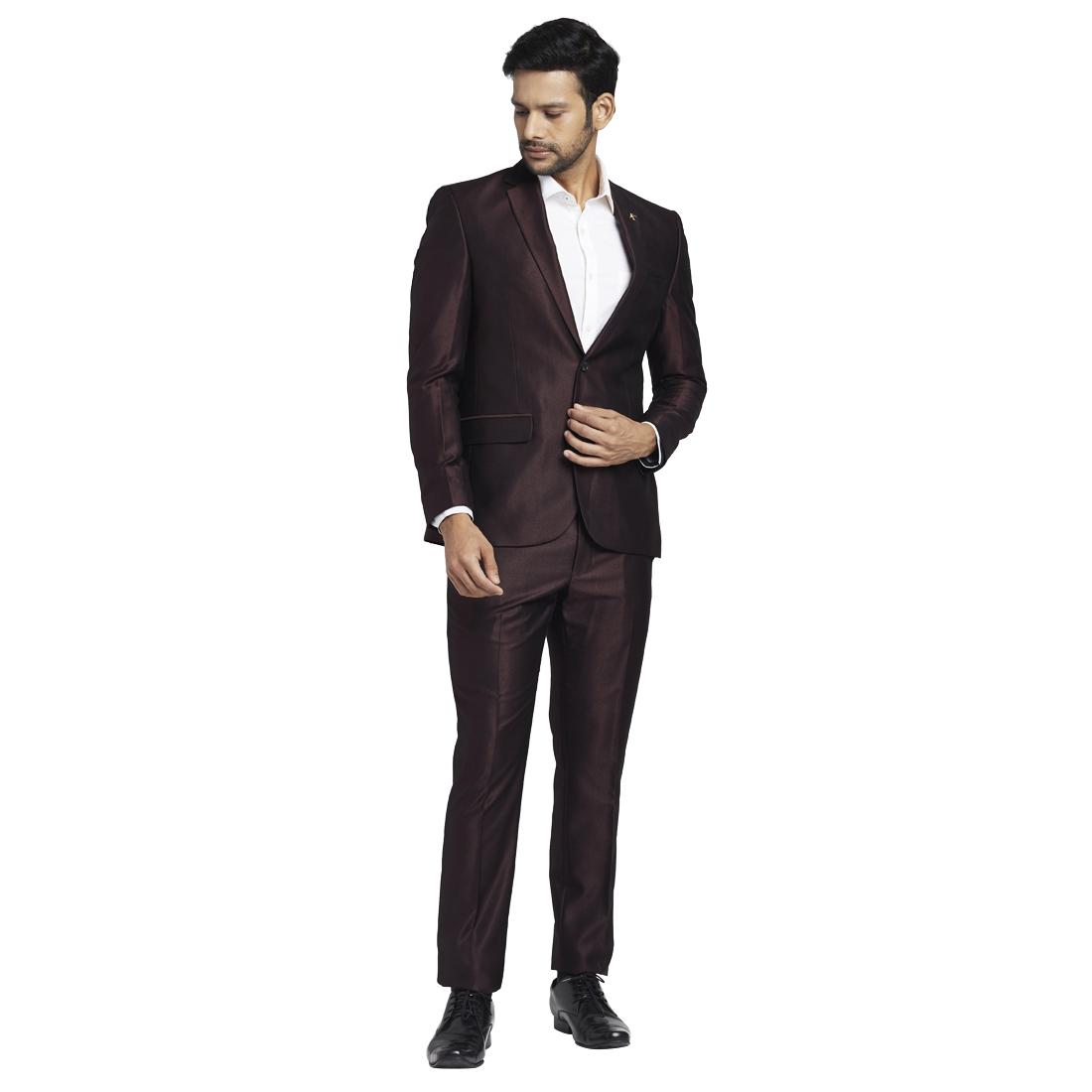 PARX | Parx Dark Maroon Suit