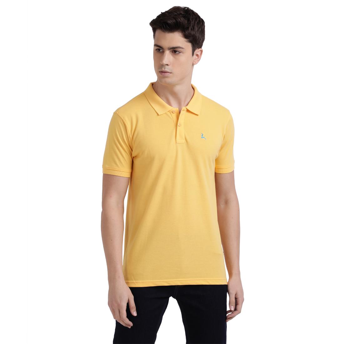 PARX | XMKB04733Y4 Medium Yellow T-Shirt