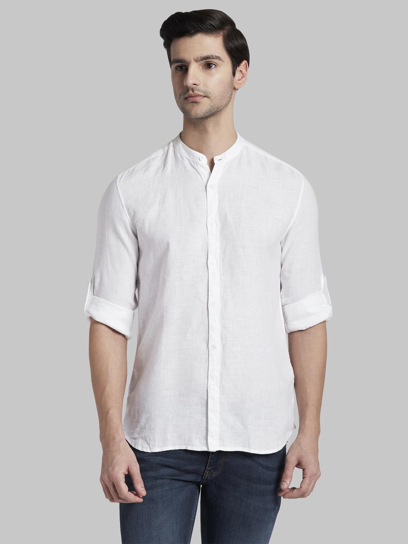 PARX | XMSJ09754W6 White Casual Shirt