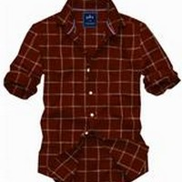 PARX   Parx Dark Brown Shirt