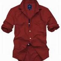 PARX | Parx Dark Red Shirt