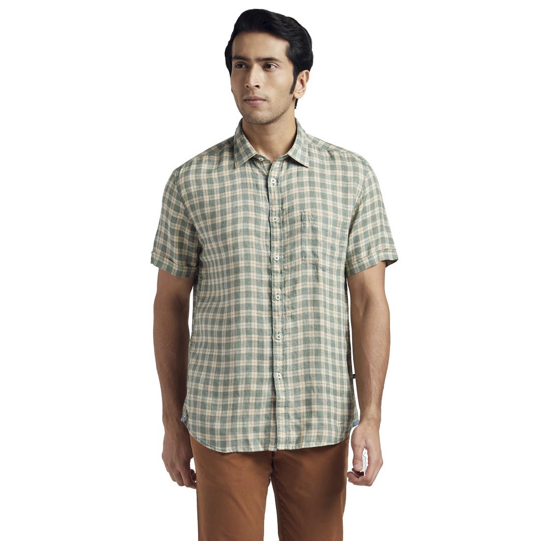 PARX | PARX Dark Green Shirt