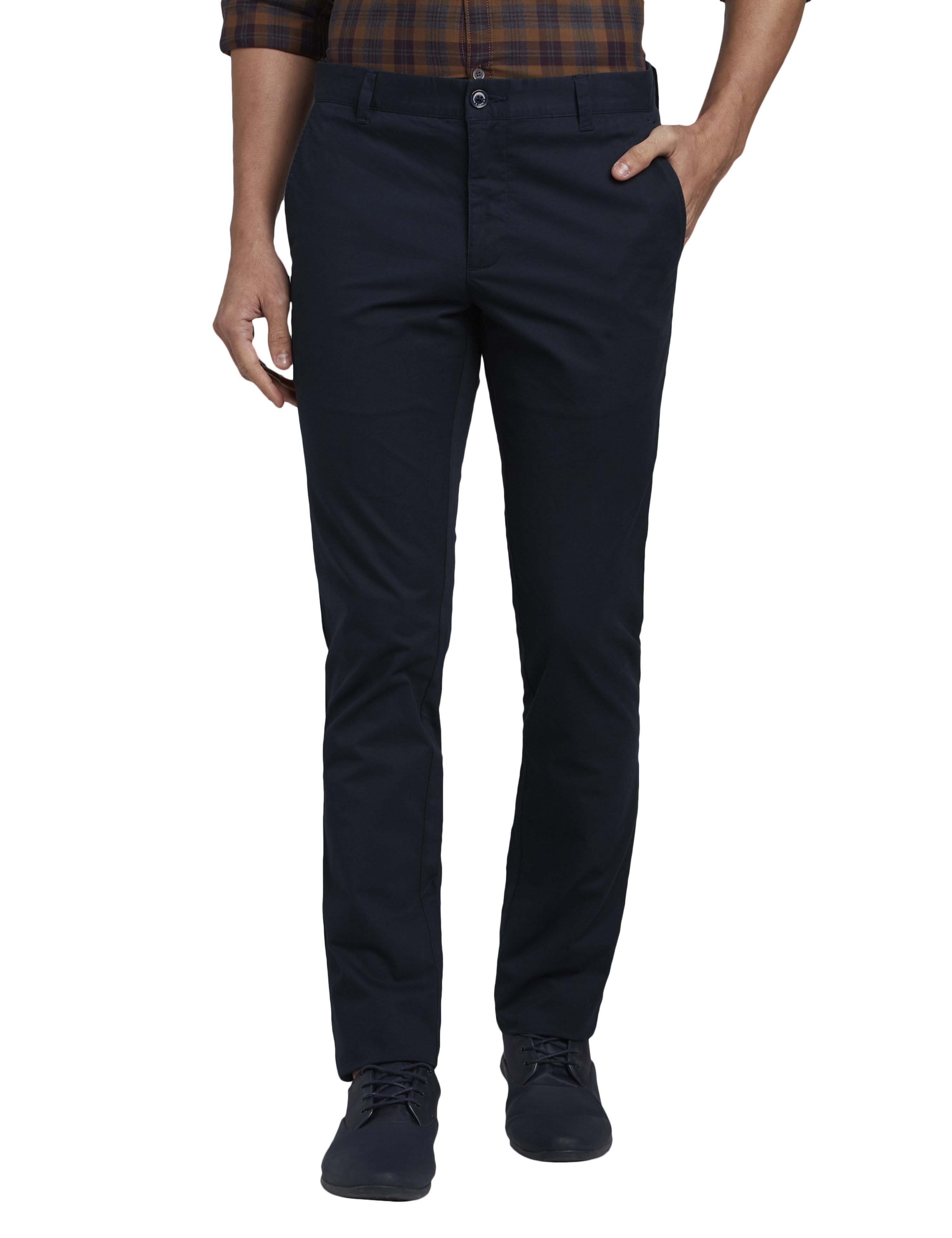 PARX   Parx Dark Blue Trouser