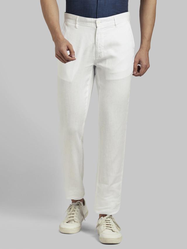 PARX   PARX White Trouser