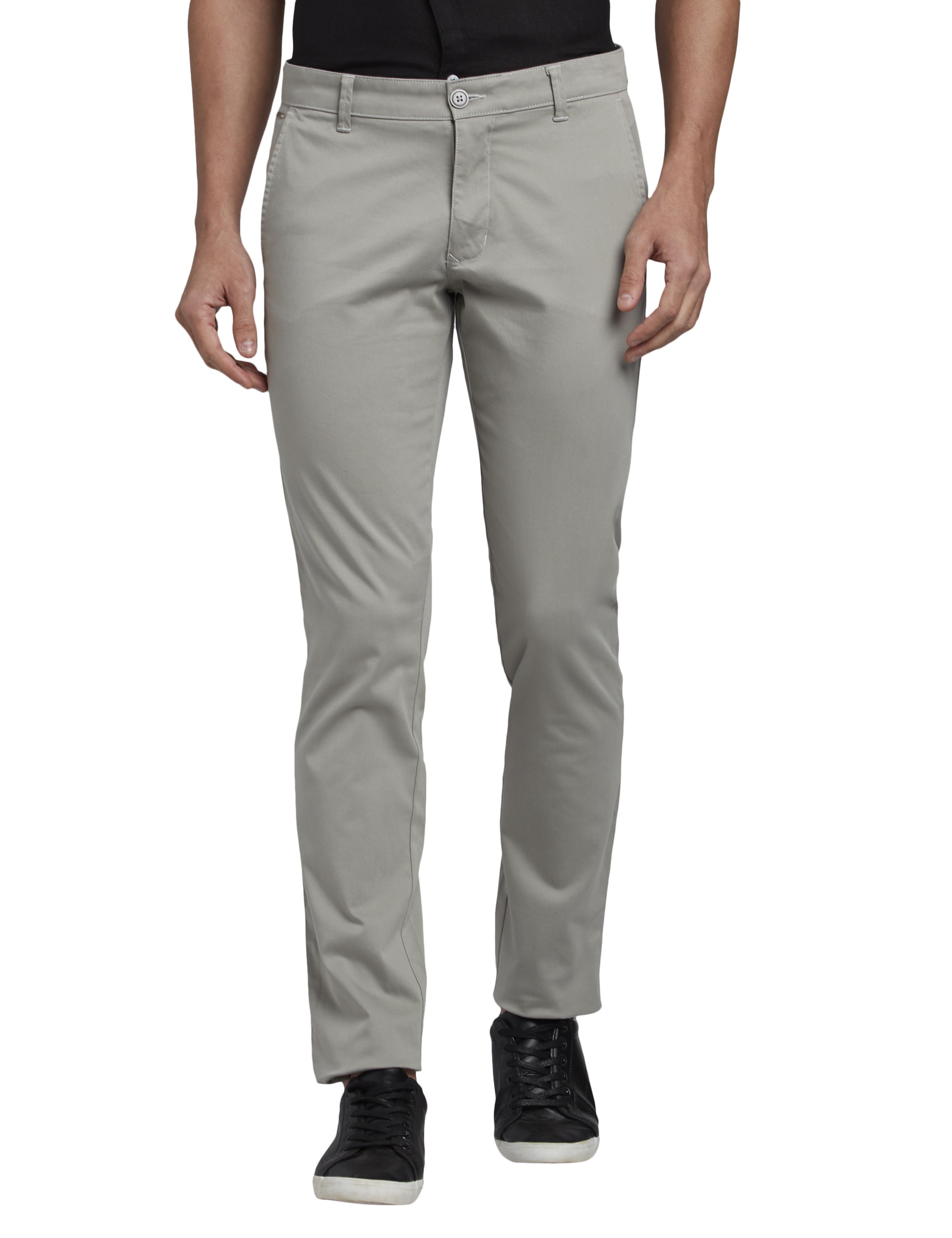 PARX   Parx Medium Grey Trouser