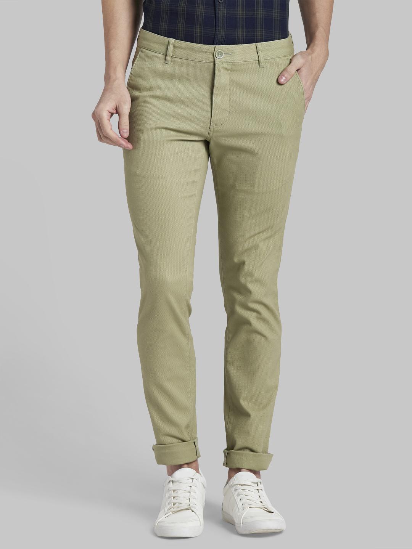 PARX | XMTX02792N4 Green Formal Trousers