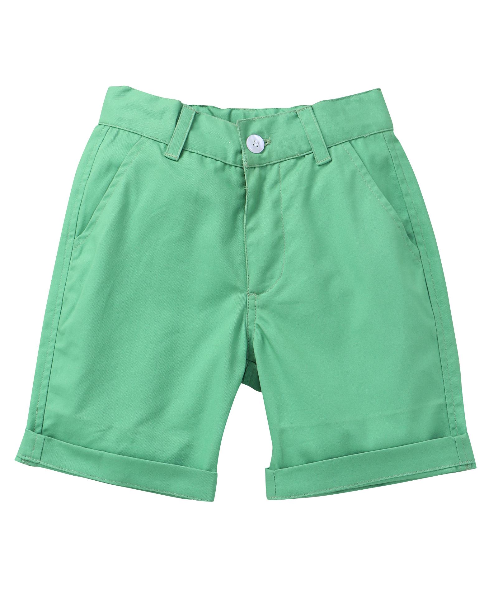 Popsicles Clothing   Popsicles Shamrock Shorts Regular Fit For Boys