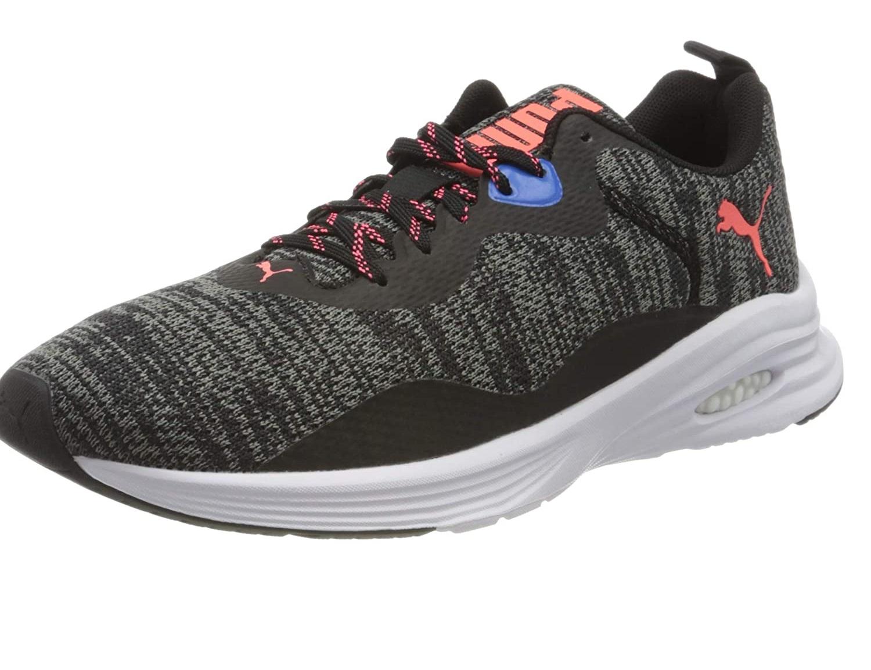 Puma   Puma Mens Hybrid Fuego Knit Running Shoes
