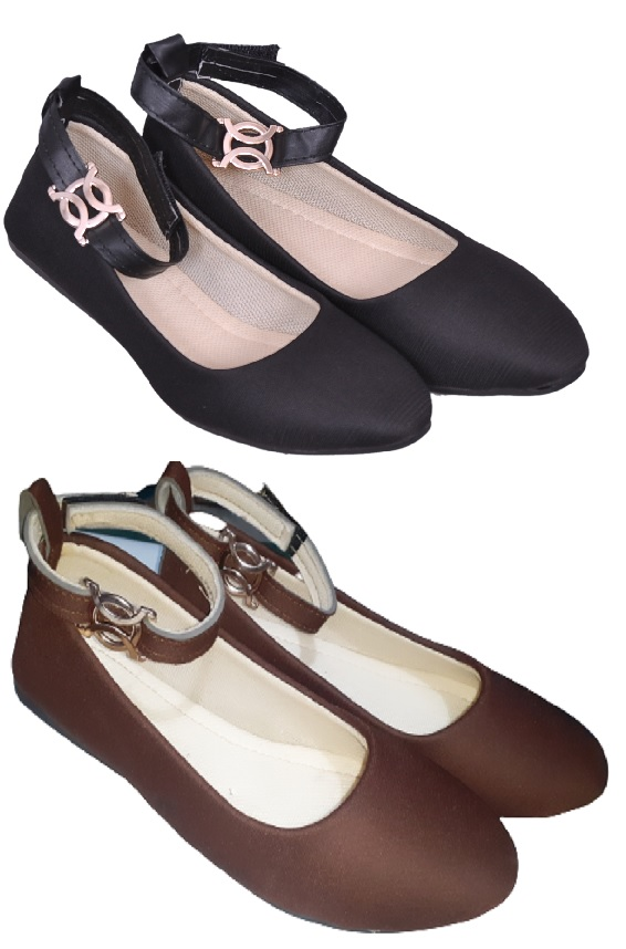 PURE CART | Gorgeous Bellie, Flats for Women(Pack of 2)