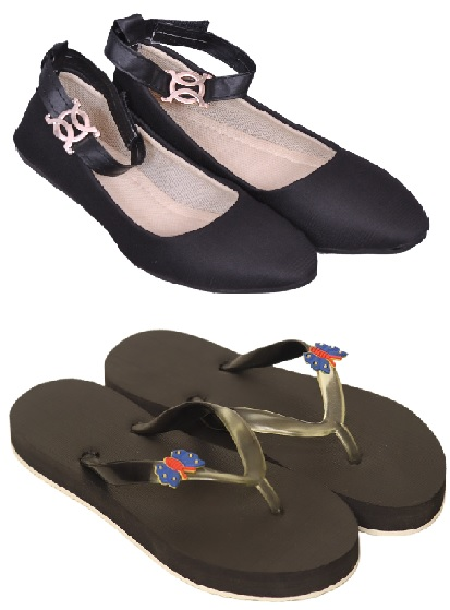 PURE CART | Gorgeous  Flats,Sleeper  for Women(Pack of 2)