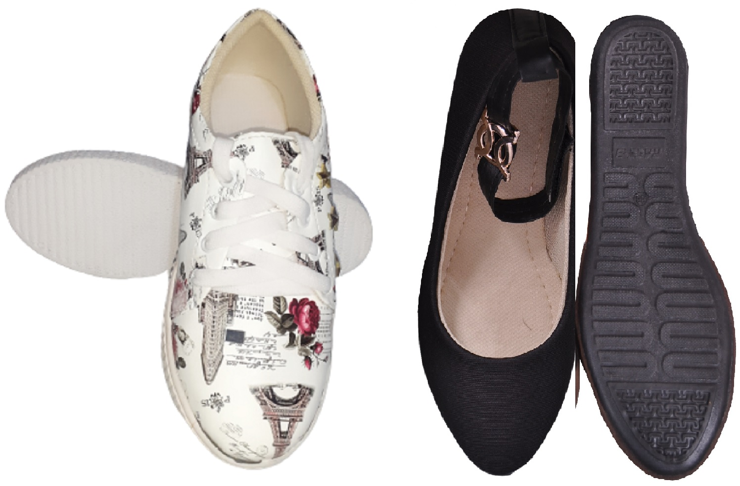 PURE CART | Fashion Shoe for womens(Pack of-2)