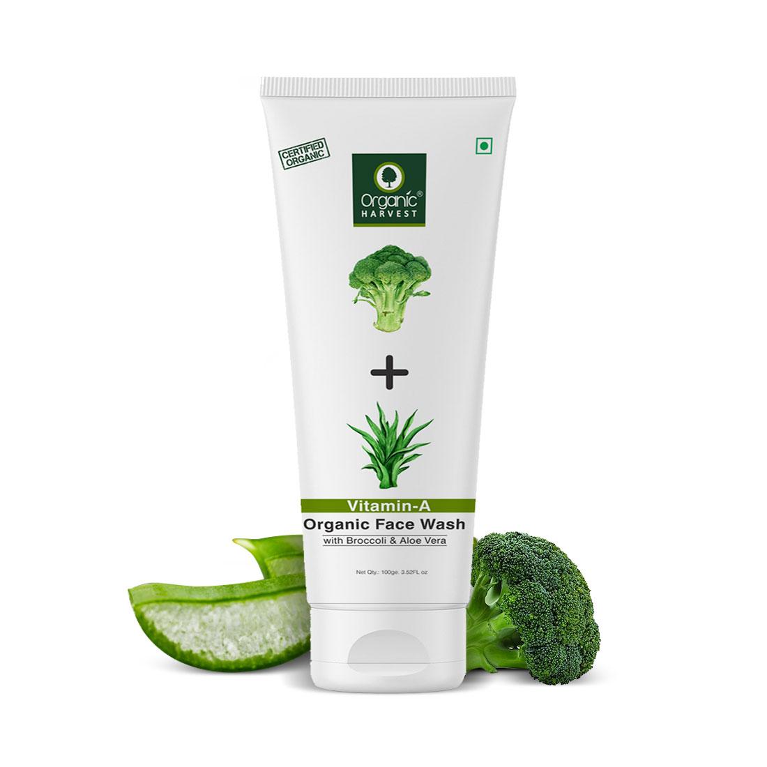 Organic Harvest | Face Wash - Vitamin-A