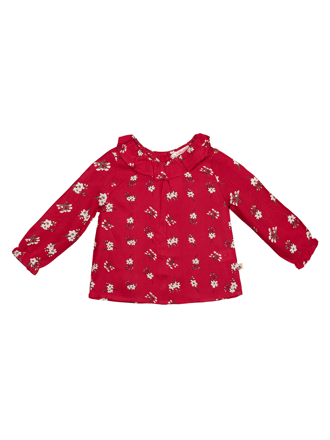 Budding Bees | Budding Bees Infants Red Fl. Top-Red