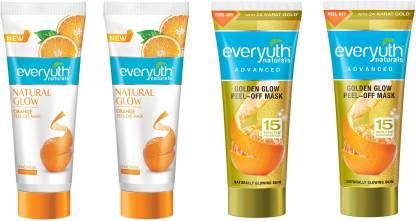 Everyuth Naturals   Everyuth Naturals Golden Glow & orange Peel of Mask