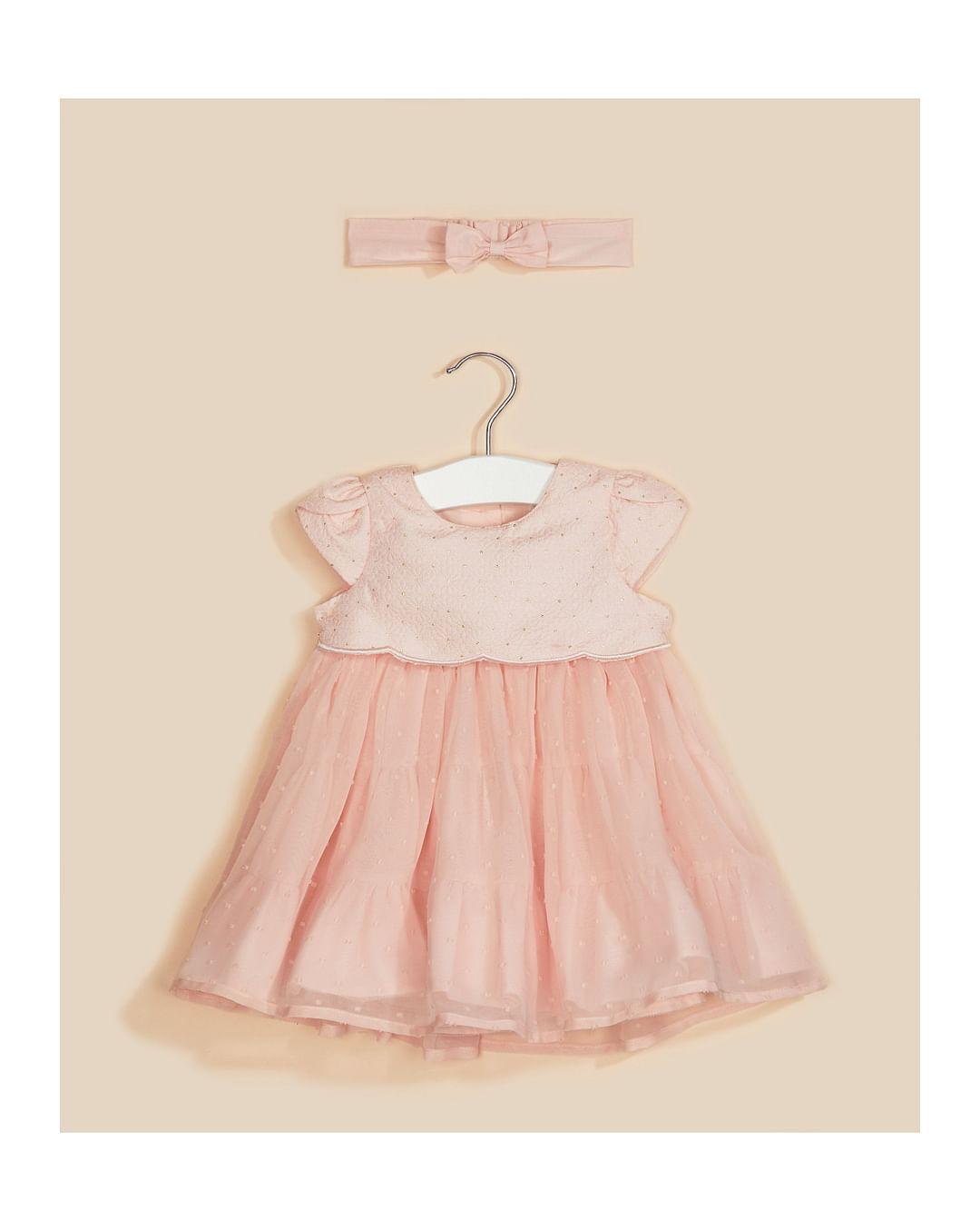 Mothercare | Pink Printed Dress