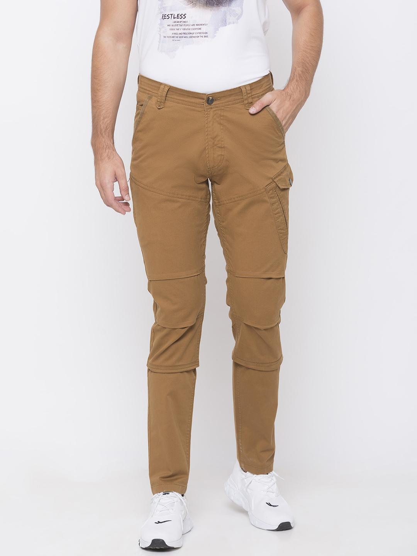 Spykar | spykar Yellow Cotton Trousers
