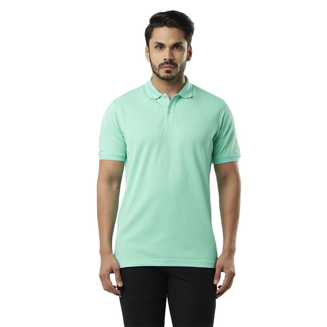 Raymond   Mint Solid T-Shirt