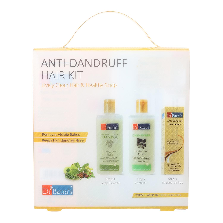 Dr Batra's | Dr Batra's Anti-Dandruff Hair Kit Lively Clean Hair & Healthy Scalp - 525 ml