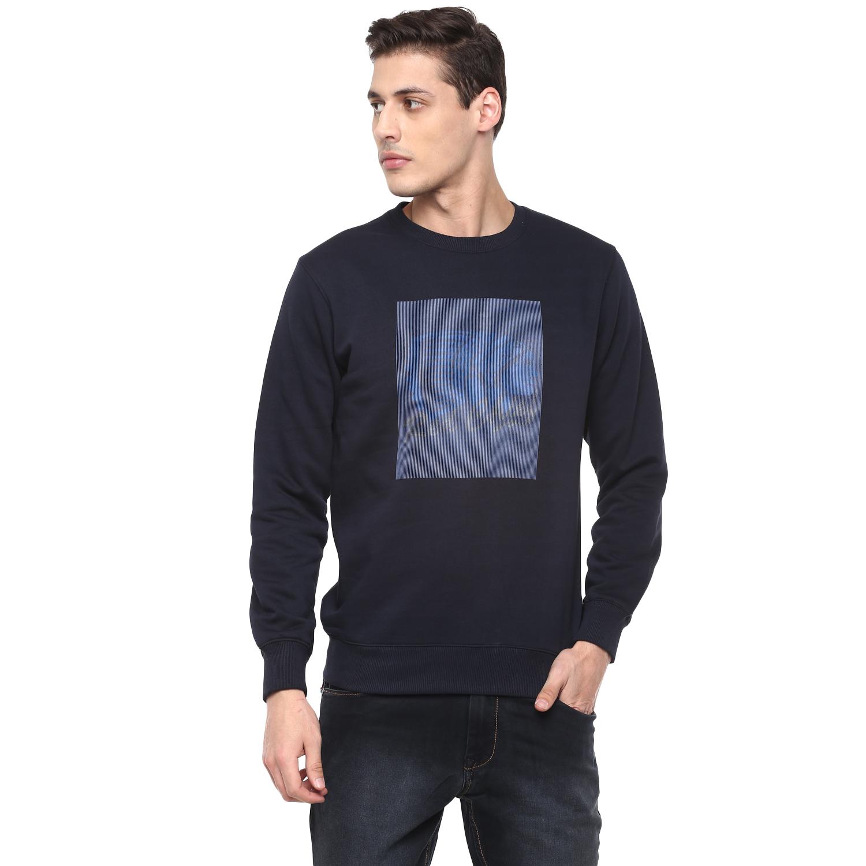 RED CHIEF | Navy Printed Sweatshirt