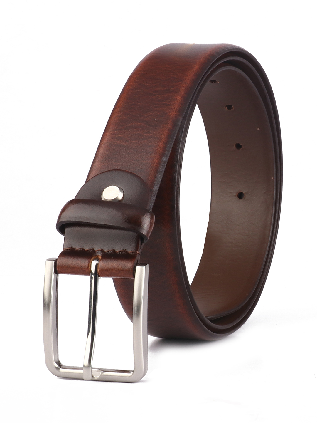 RED CHIEF   Red Chief Men Leather Formal Belt (Brown)