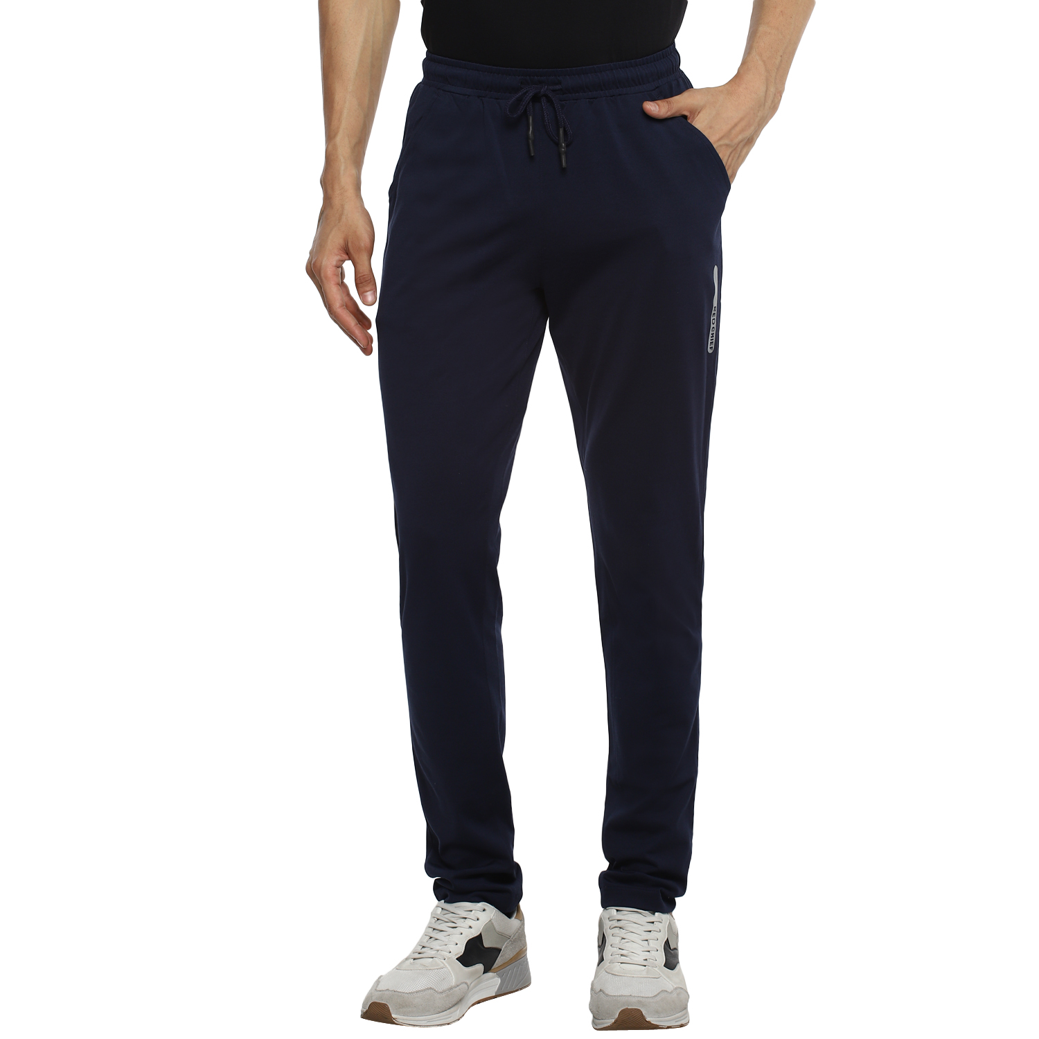 RED CHIEF   Red Chief Men Solid Casual Lower (Navy)