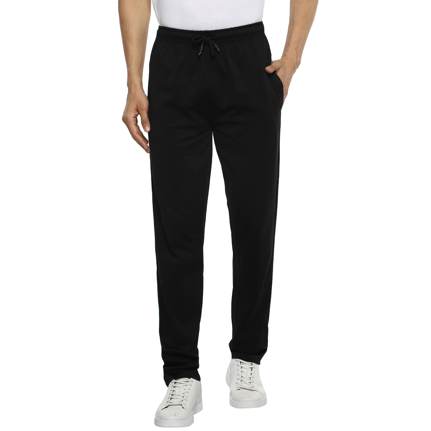 RED CHIEF | L-8560002 001 - Red Chief Men Solid Casual Lower (Black)