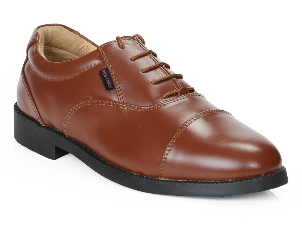 RED CHIEF   Tan Oxfords