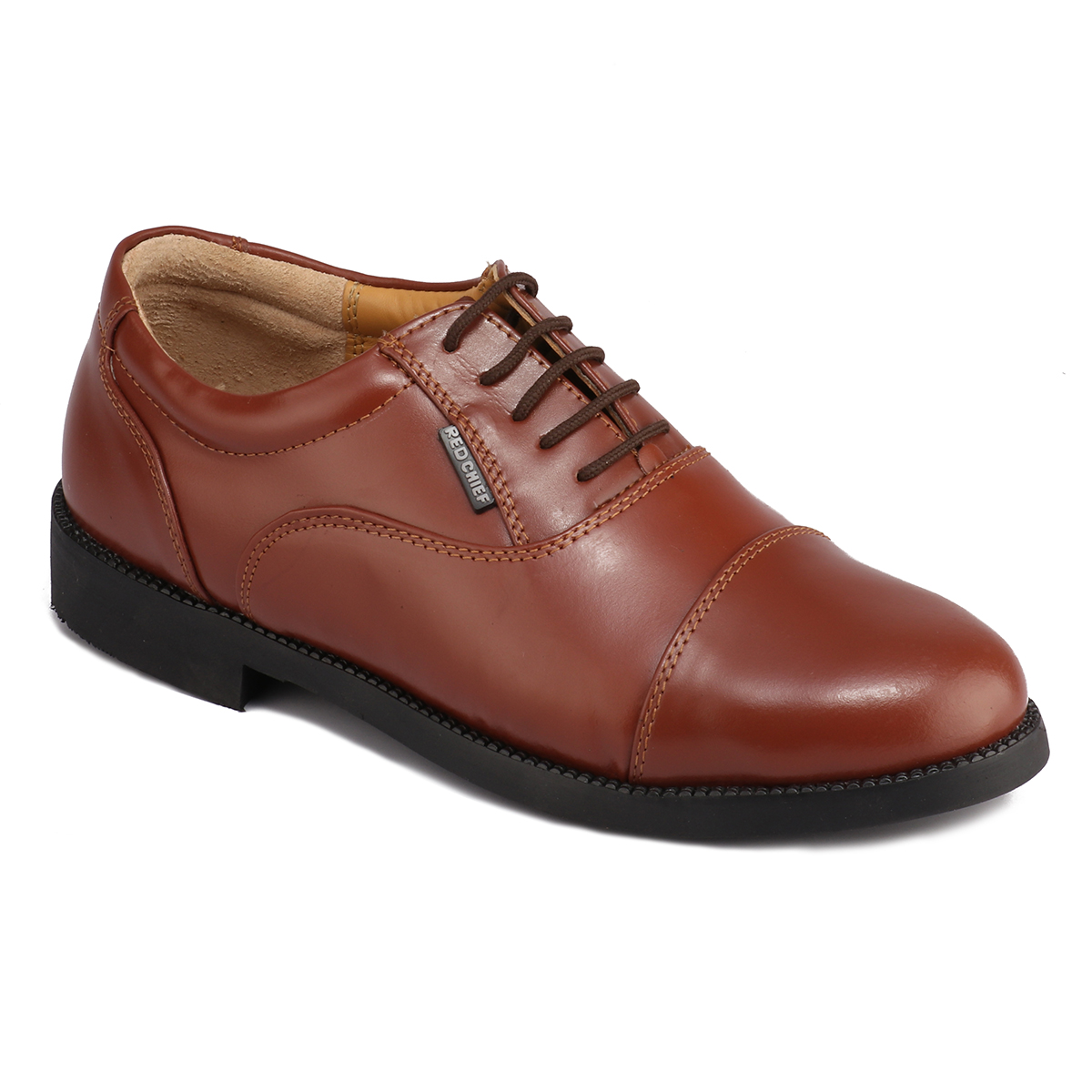 RED CHIEF | Tan Oxfords