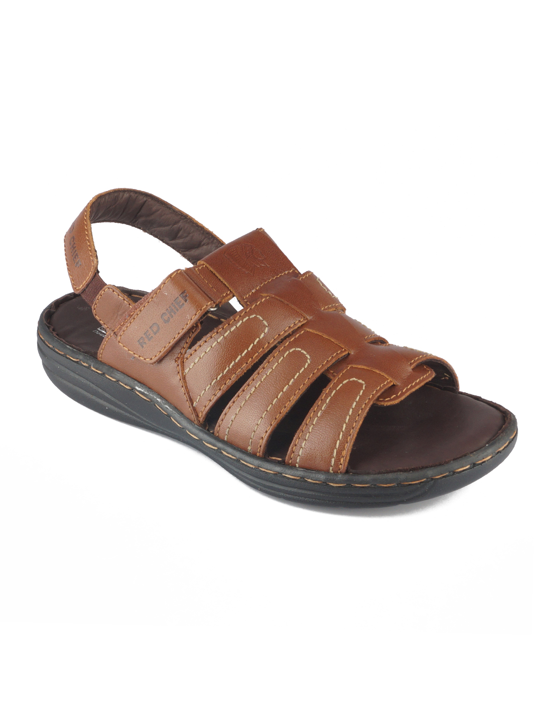 RED CHIEF   Tan Sandals