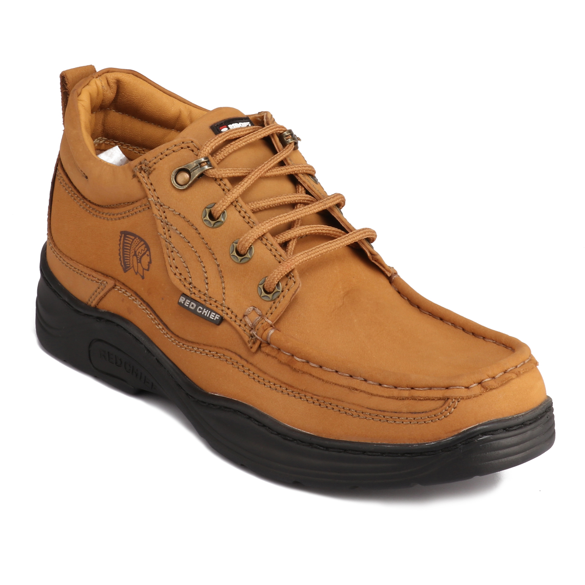 RED CHIEF   Rust Casual Lace-ups