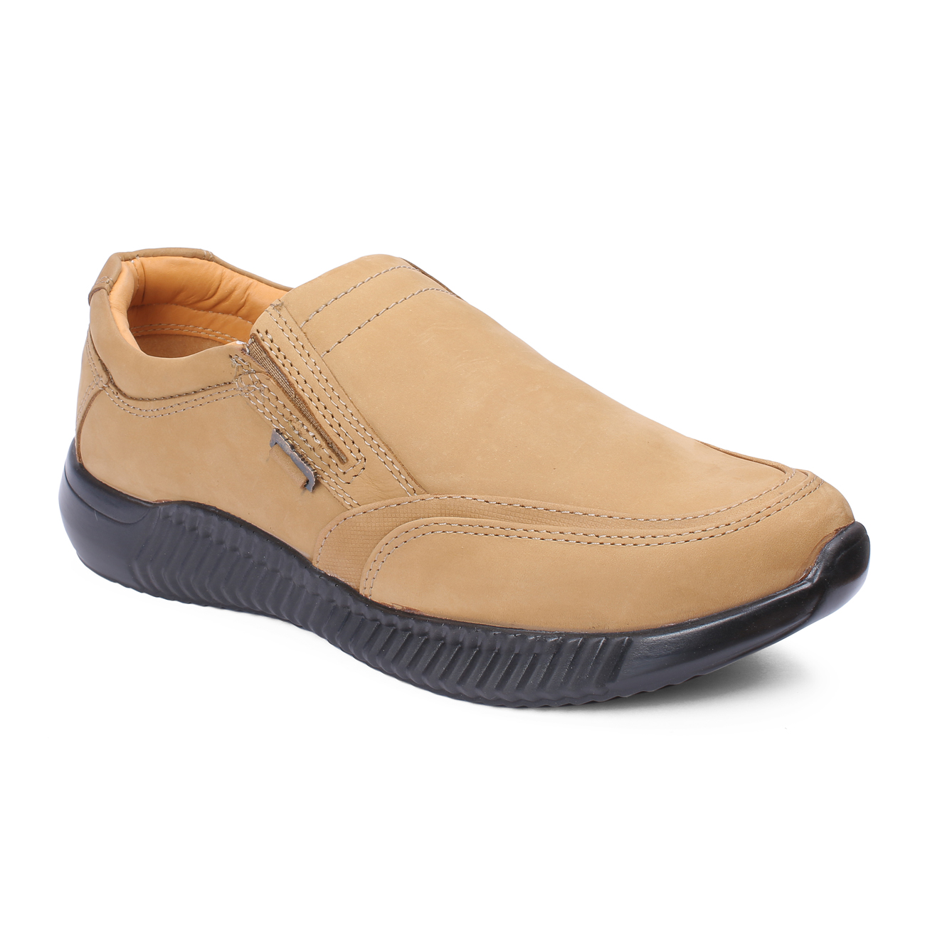RED CHIEF | Camel Casual Slip-ons