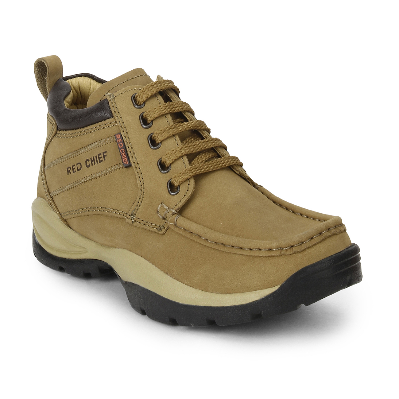 RED CHIEF   RC2051 022 - MENS CASUAL Rust Boots