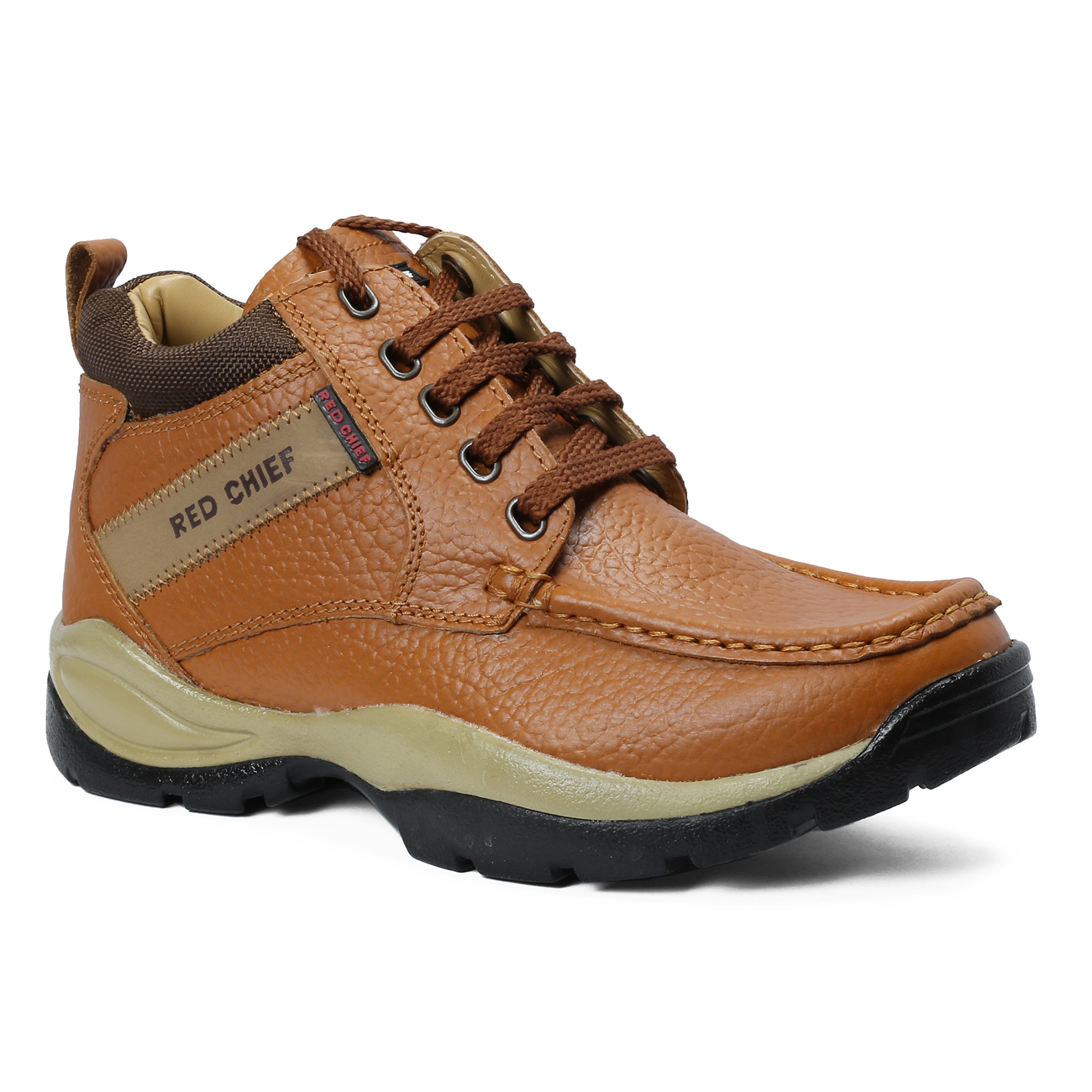 RED CHIEF   RC2051 107 - MENS CASUAL Elephant Tan Boots