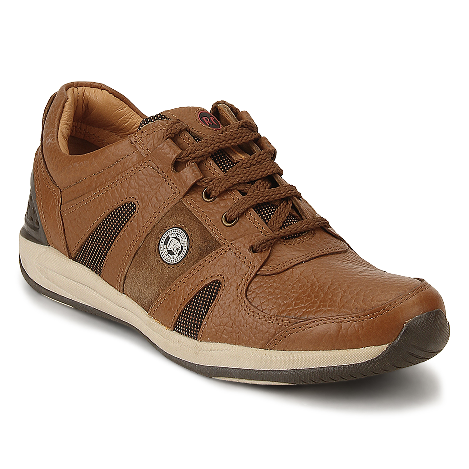 RED CHIEF | Elephant Tan Casual Lace-ups
