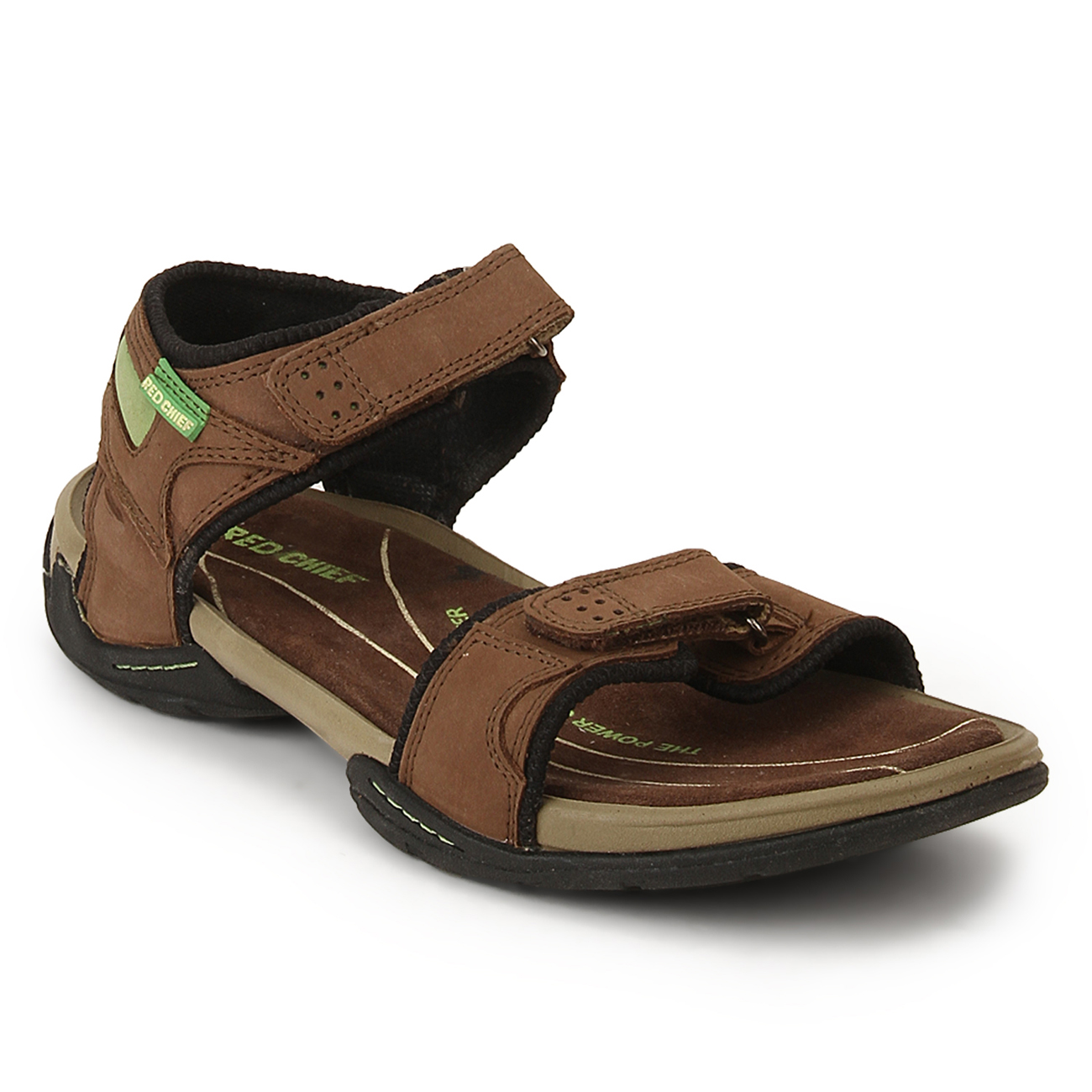 RED CHIEF | Dark Brown Sandals