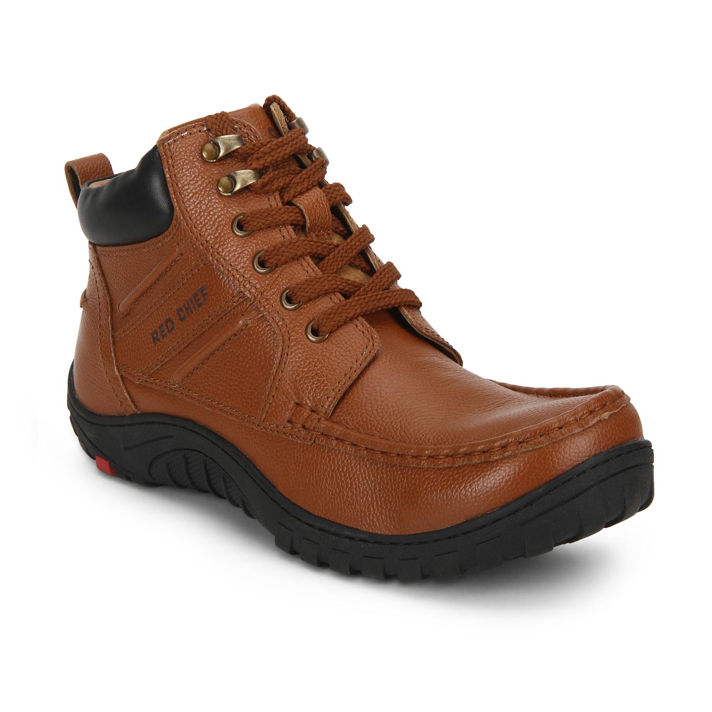 RED CHIEF   Dark Brown Boots