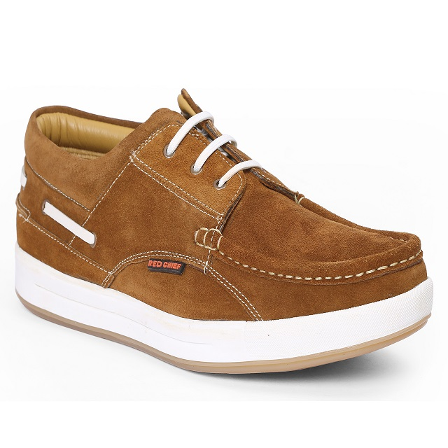 RED CHIEF | Rust Casual Lace-ups
