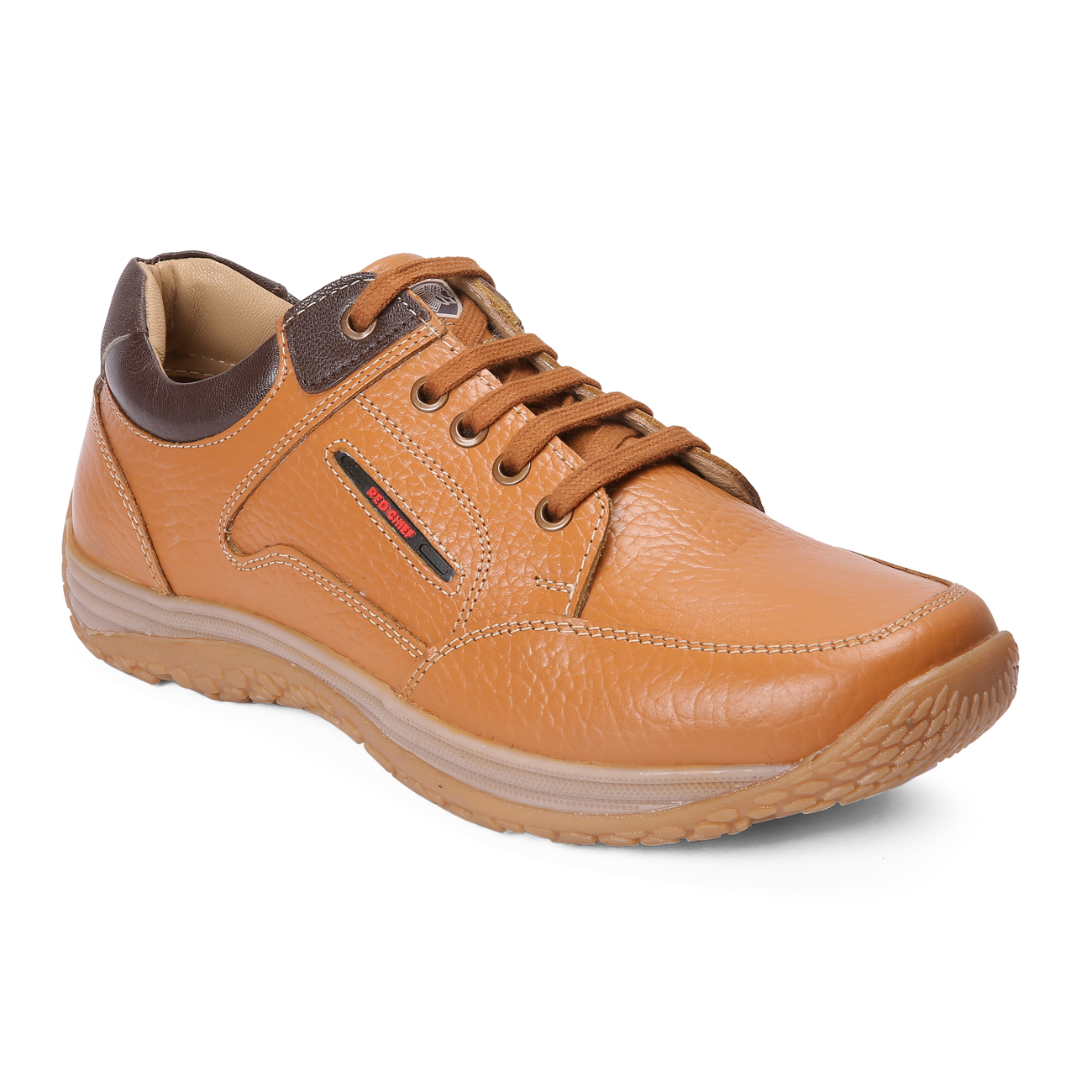 RED CHIEF | RC3520 107 - Brown Casual Lace-ups