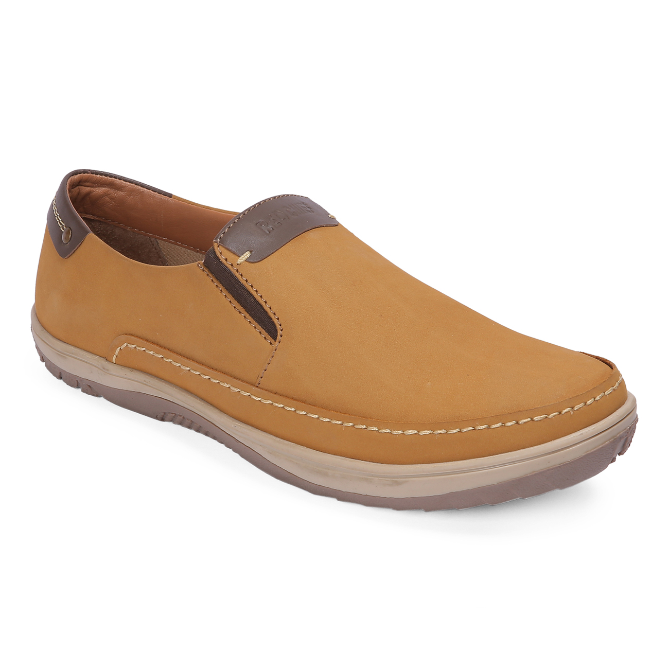 RED CHIEF | Rust Casual Slip-ons