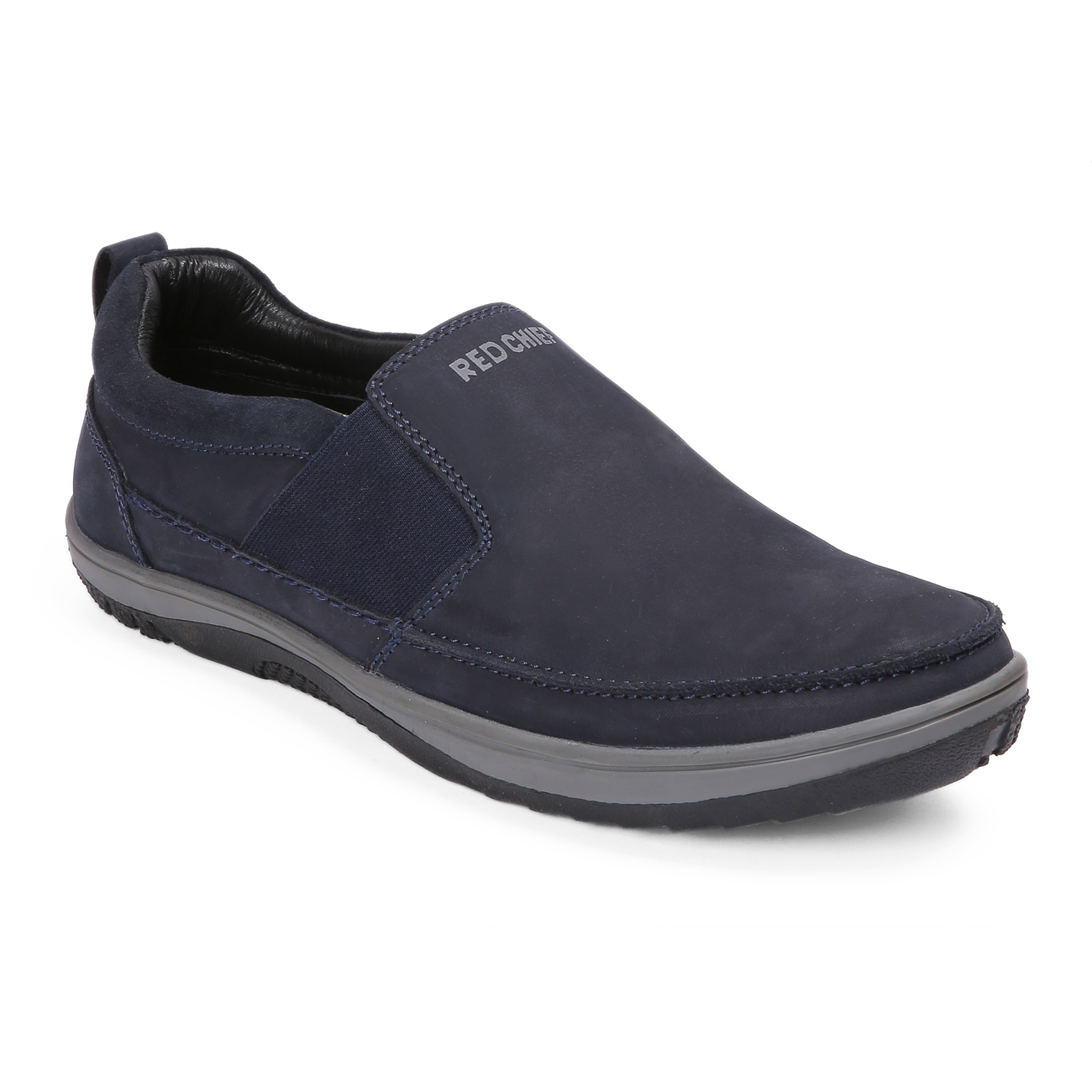 RED CHIEF | Blue Casual Slip-ons