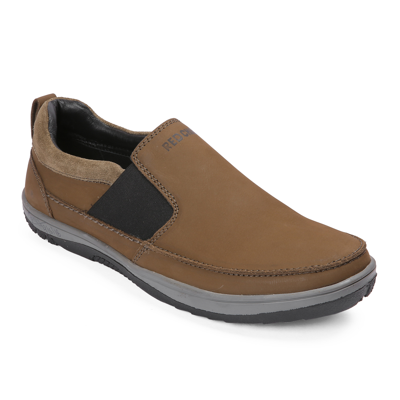 RED CHIEF | Brown Casual Slip-ons