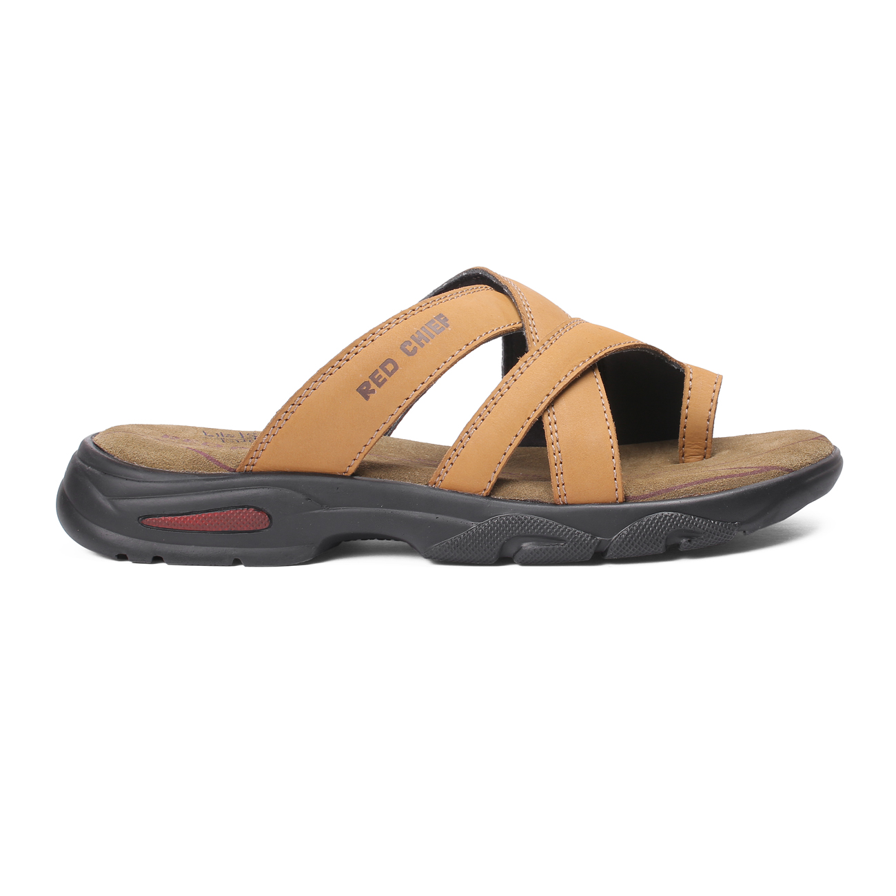RED CHIEF   Rust Sandals