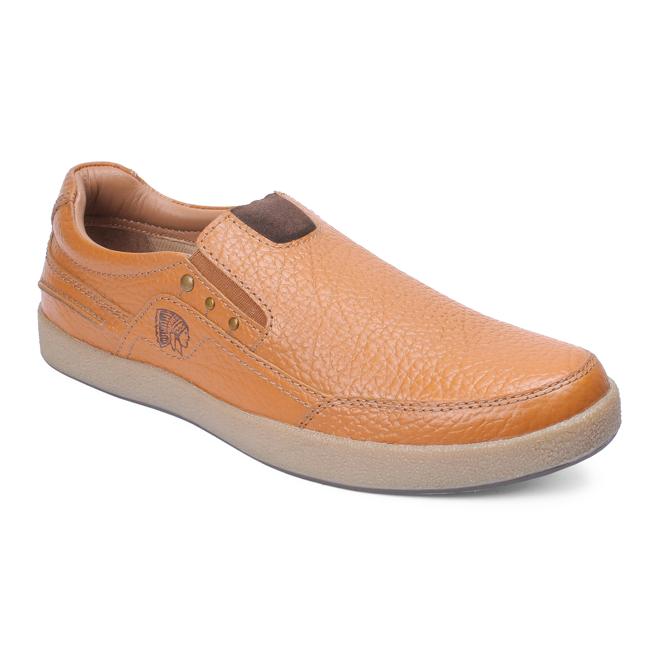 RED CHIEF | Elephant Tan Casual Slip-ons