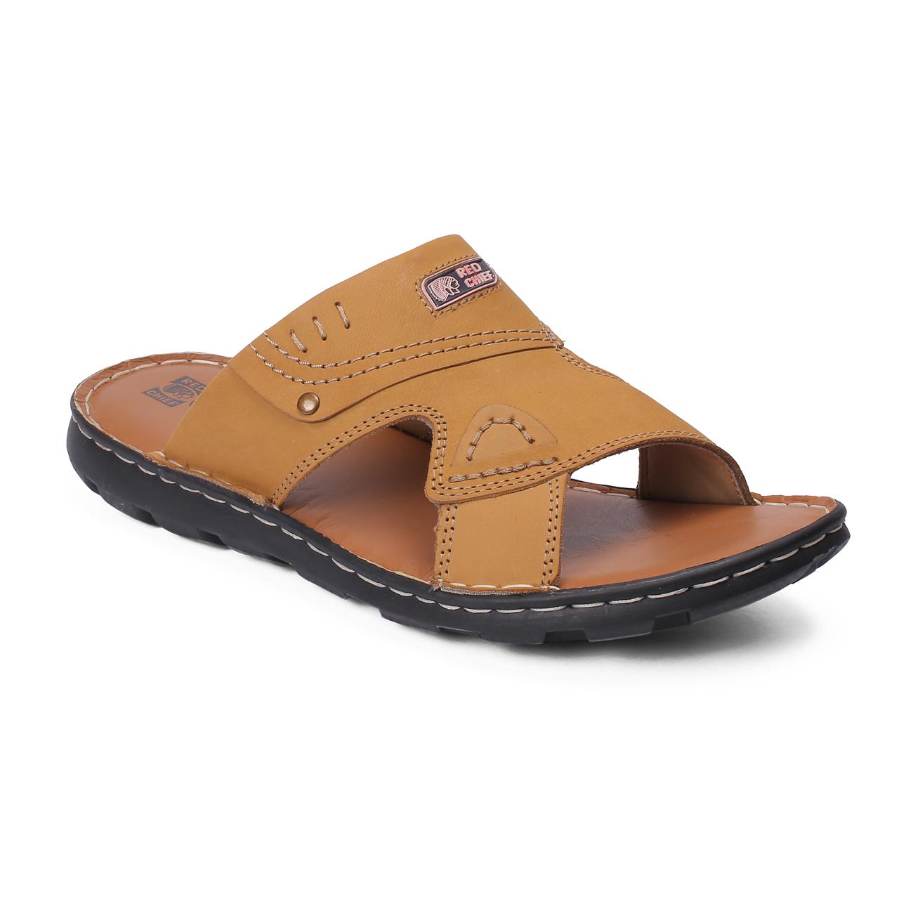 RED CHIEF | Beige Sandals