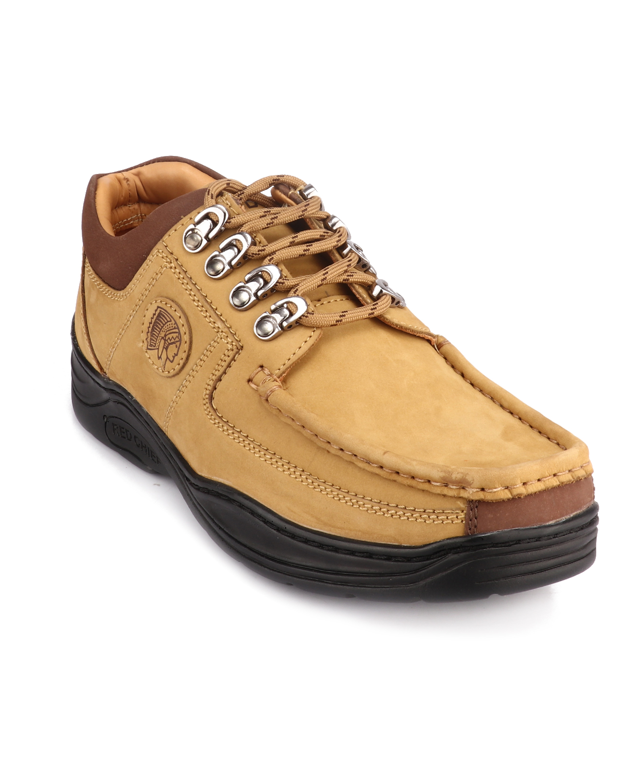 RED CHIEF | RCA1200 004 - Camel Casual Lace-ups