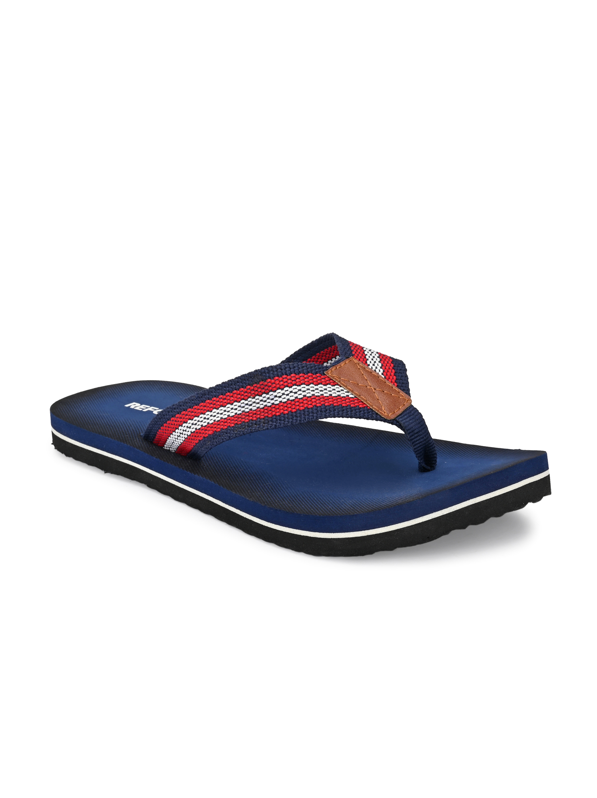 REFORCE | Reforce Men's Navy Fabric Casual Slipper