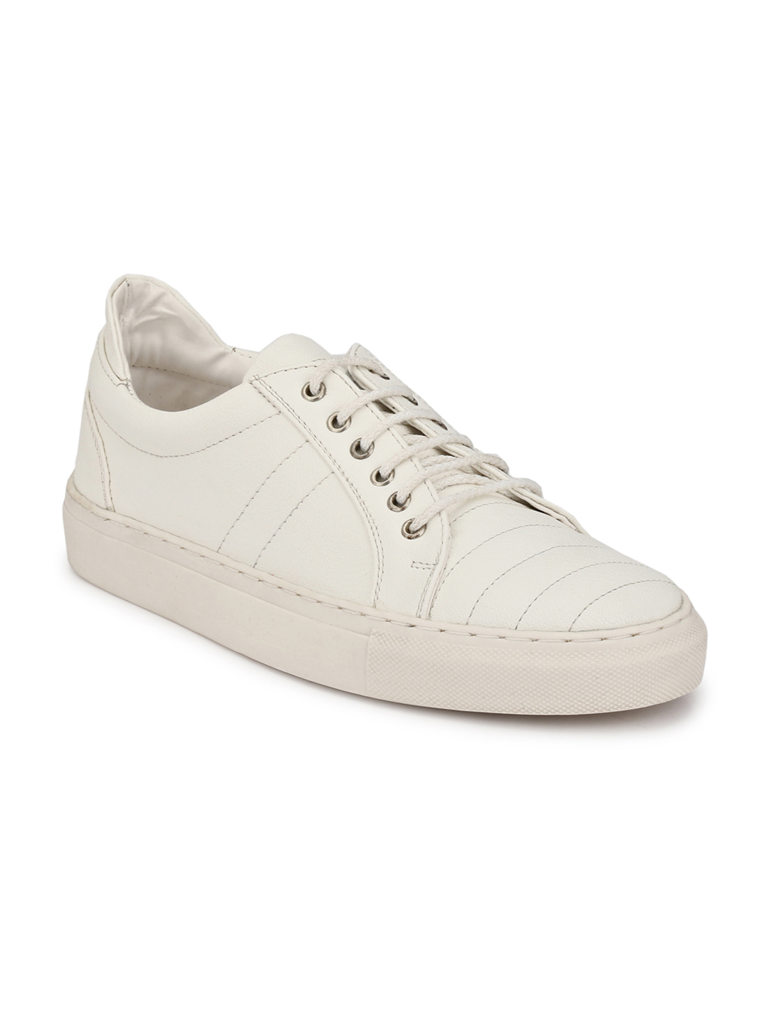 AADY AUSTIN | Aady Austin Hepner Quilted Sneakers - White